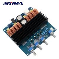 AIYIMA Amplificador Class D Amplifiers Audio Board TDA7498 2 1 Digital Power Amplifier Board