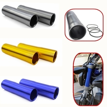 Motorcycle CNC Front Fork Tube Slider Cover for 2014 2015 2016 2017 2018 Yamaha MT FZ 07 MT-07 FZ-07 MT07 FZ07 Motor Accessories