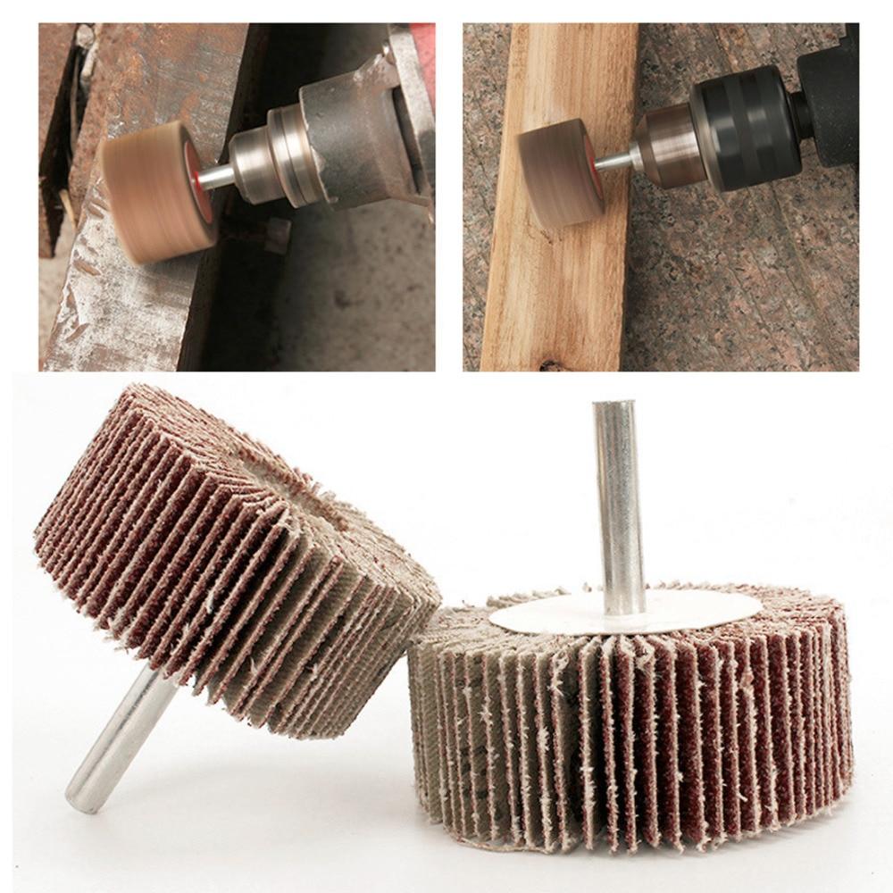 Power Dremel Accessories 5Pcs Sandpaper Sanding Flap Polishing Disc Set Wheel Sanding Disc For Rotary Tool Shutter Color Random