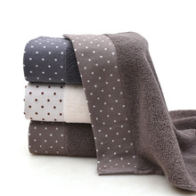 35x75cm Large Cotton Bathtub Shower Towel Thick Household Bathroom Adult Hotel Childrens Face Saliva Washcloth