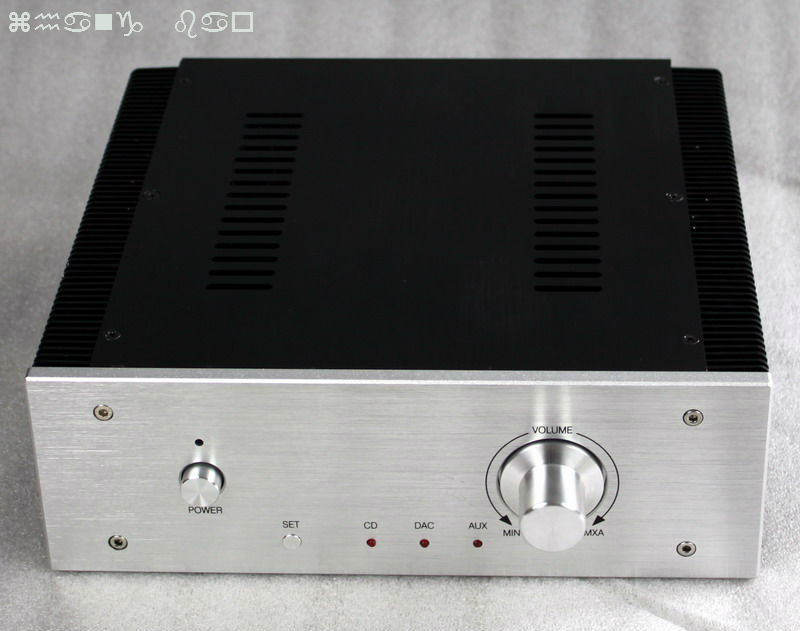WA17 all amplifier case black wire drawing diy tube amplifier chassis aluminum amplifier enclosure 3206 amplifier aluminum rounded chassis preamplifier dac amp case decoder tube amp enclosure box 320 76 250mm