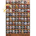 Michelangelo Wooden Jigsaw Puzzles 1000 Pieces Peking Opera Theatrical Masks Educational Toy Decorative Painting Gift Home Decor