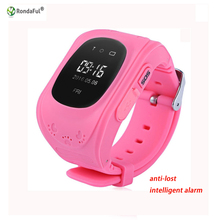 Q50 Kids Smart Watch with LBS Positioning LCD Color Display Multiple Languages Kids smartwatch with SOS Button for Help