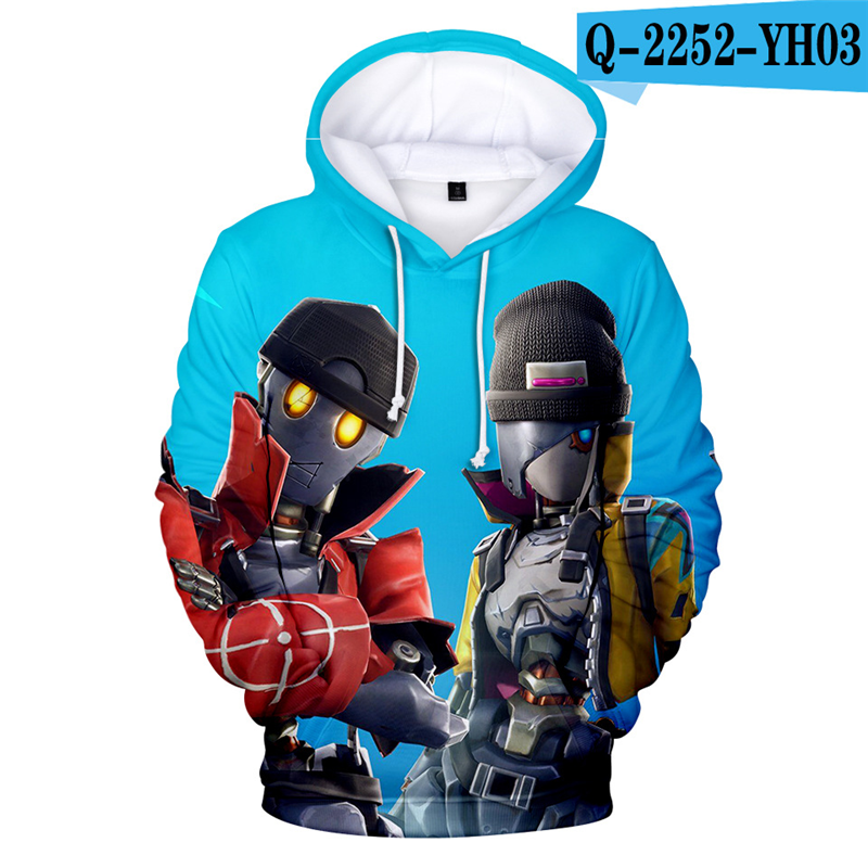 Fortniter Battle Royale Hoodie Fortnight Moletons Game Popular Clothes Battle Royale Women Clothing Game Clothing Women Clothes