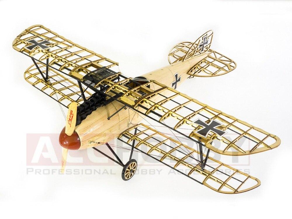 Envío gratis modelo estático, modelos de avión, Albatros D.III - Juguetes de construcción - foto 2