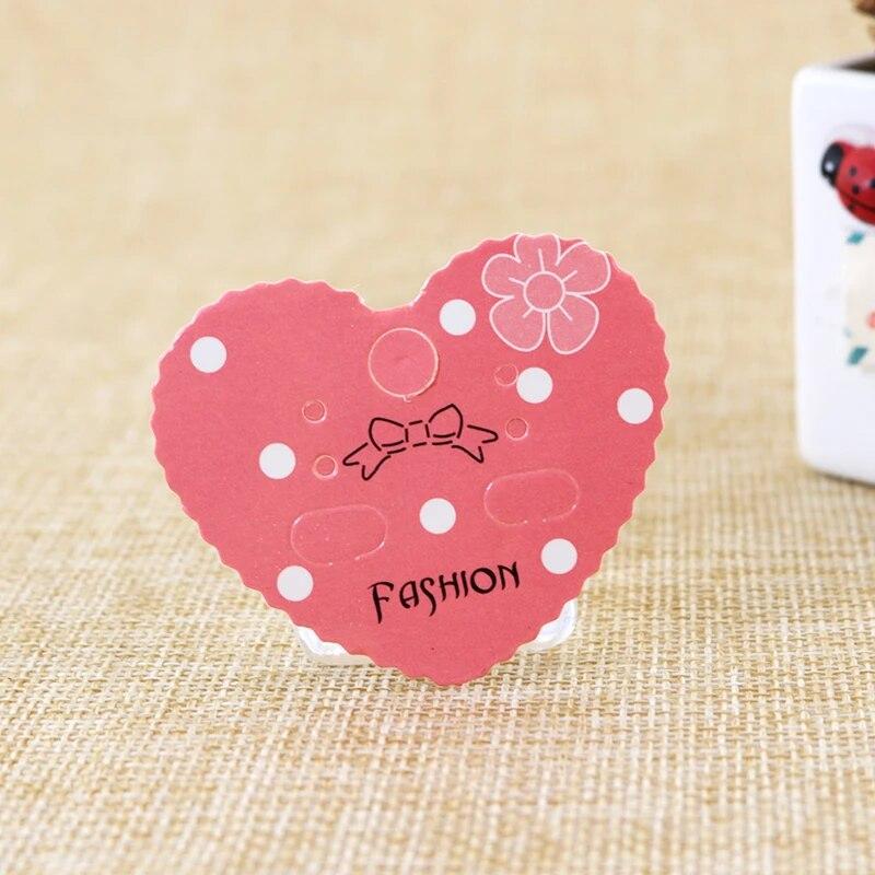 Jewellery Display Cards Necklace Bracelet Bobble ~ Pink