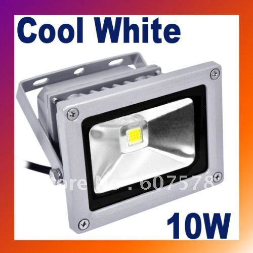 LED Flood Light Lamp 10W Cool White