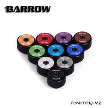 "Barrow G1/4"" Manual Air Exhaust Valve Filter Multicolor New CD pattern Water Cooling Black Silver White 10 Colors TPQ-V2(China)"