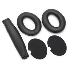 Горячие-мягкие амбушюры повязка на голову подушечки для наушников для BOSE для quietкомфорт QC15 QC2 Сменная Губка для наушников амбушюры