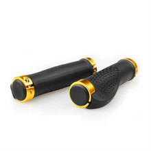 New MTB Road Cycling Skid-Proof Grips Anti-Skid Rubber Bicycle Grips Mountain Bike Lock On Bicycle Handlebars Grips