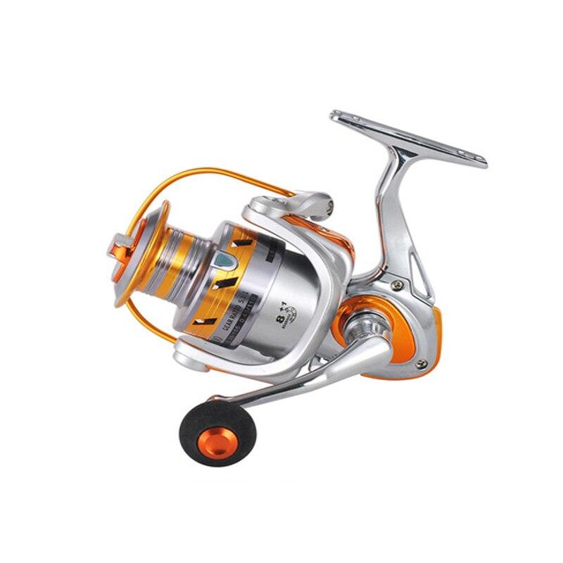 1PC 8+1BB 4000 Series EVA Grip Fishing Wheel Spinning Wheel Outdoor Sea Fishing Reel Fishing Gear Accessories Pesca
