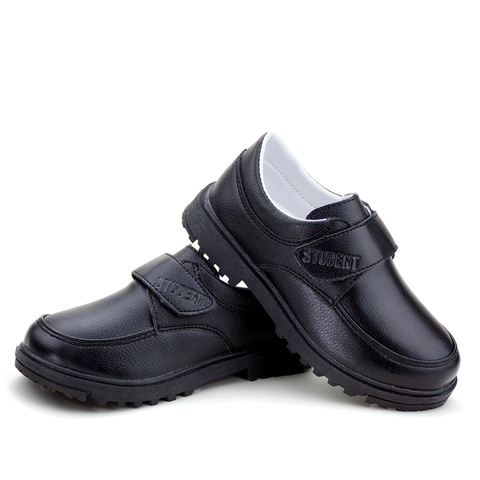 Autumn Winter Leather Boys Girls School Shoes Fashion Casual Children Shoes Breathable Boy Girl Warm Black Kids Toddler Footwear Islamabad