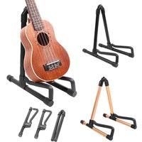 Elektrische Gitarre Ukulele Stehen Halter Faltbare Vertikale Musical Zubehör|Gitarren-Teile und Zubehör|Sport und Unterhaltung -
