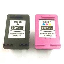 For HP 300 300 XL Ink Cartridge 300XL For HP Deskjet D1660 D2560 D2660 D5560 F4500 F4580 F4583 F2420 F2480 F4210 F2483 Printer high ink volume re manufactured ink cartridge for hp 300xl 15 17ml cc644ee 300xl tri colour inkjet cartridge for deskjet d2660