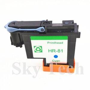 Image 3 - חתיכה אחת ציאן הדפסה ממוחזרות ראש עבור HP81 C, עבור Hp DesignJet 5000 5500 מדפסת.
