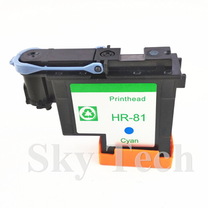 Image 3 - One Piece Cyan Remanufactured Print Head  For HP81 C ,  For Hp DesignJet 5000 5500 printer .