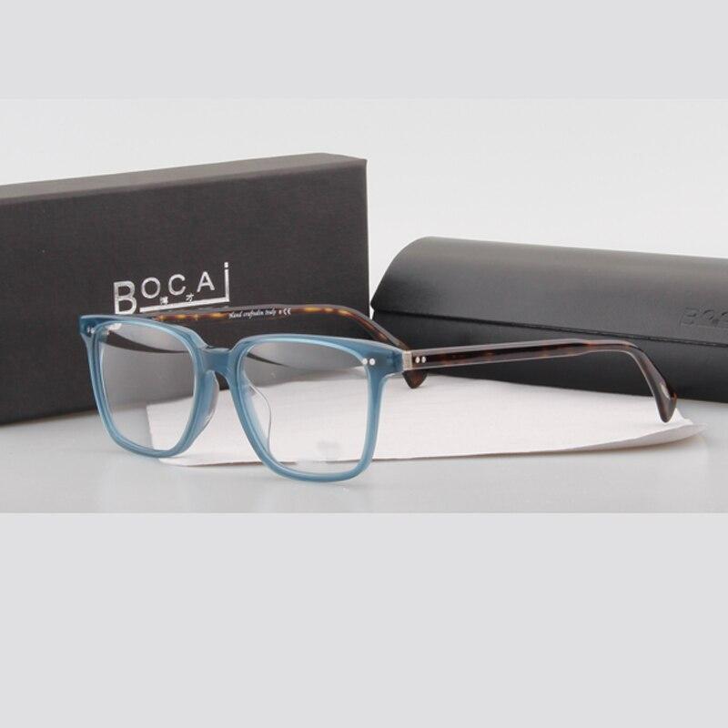 Bocai Brand New High quality square optical eyeglasses Olives
