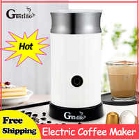 Gustino Electric Coffee Maker Household Espresso Automatic Milk Frother Cappuccino Coffee Maker For Home Heating Milk Cold Froth