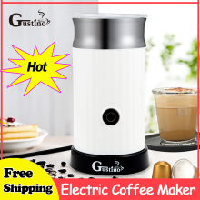 Gustino Electric Coffee Maker Household Espresso Automatic Milk Frother Cappuccino For Home Heating Cold Froth