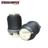 StOSSDaMPFeR 2pcs Rear Air Spring Suspension Kit Air Bag Repair Kit Shock Absorber Fit Audi A6 C6 4F0505312L 4F0616001J