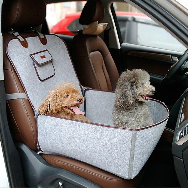 Felt Cloth 2 In 1 Pet Dog Car Seat Cover Anti Slip Soft Durable