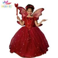 Retail 2015 Girls Spring Princess Dresses Girl Summer Vestidos Baby Children Party Clothing Kids Popular Clothes