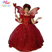 Retail 2015 Girls Spring Princess Dresses Girl Summer Vestidos Baby Children Party Clothing Kids Popular Clothes