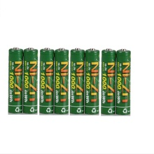 Новые качественные 8 шт 1000MWH NI Zn 1,6 V AAA аккумуляторные батареи