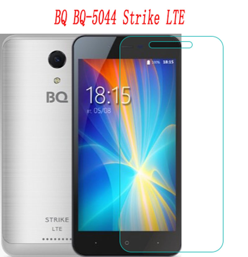 NEW Ultra-thin New For <font><b>BQ</b></font> <font><b>BQ</b></font>-<font><b>5044</b></font> Strike LTE <font><b>5044</b></font> Tempered Glass <font><b>Screen</b></font> Protector Premium Front Clear Protective Film Cover case image