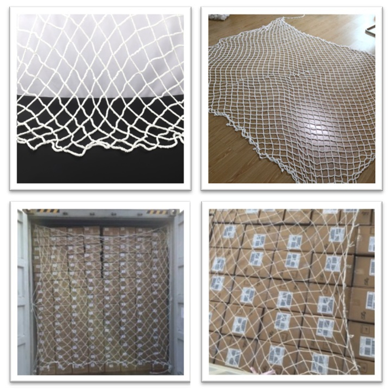 2.4x2.4/2.6m Container Protection Net Pet Dog Plush Cat Balcony Railing Stairs Baby Against Falling Fence Kids Safety Netting