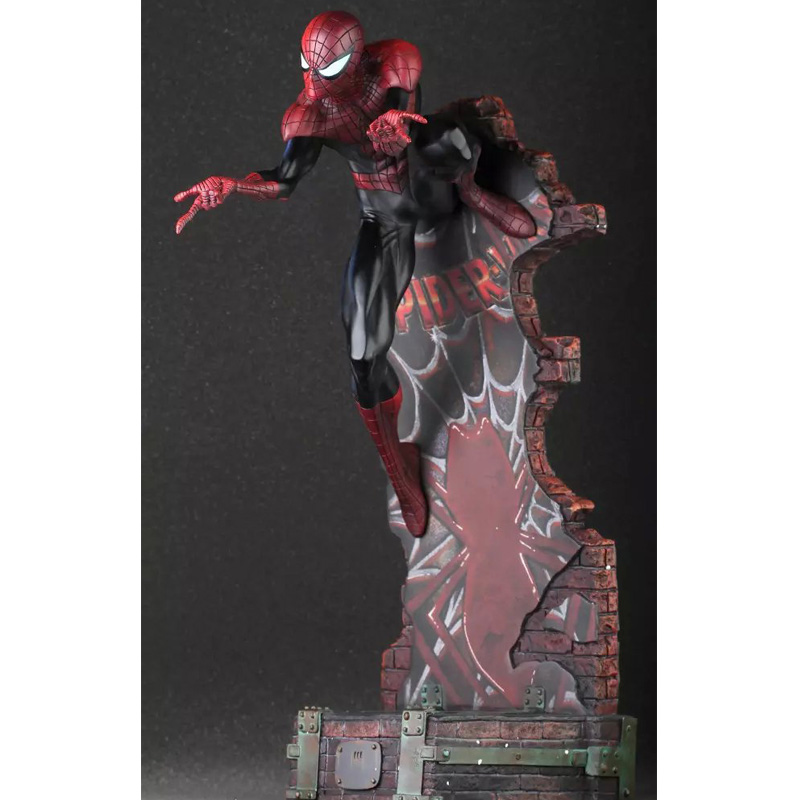 Marvel Crazy Toys Spiderman The Amazing Spider-man PVC Action Figure Collectible Model Toy 2 Styles 18 KT1932 the flash man aciton figure toys flash man action figures collectible pvc model toy gift for children