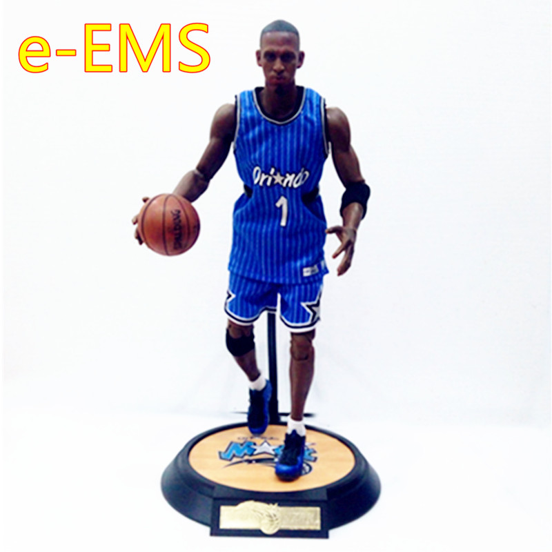 NBA Basketball Star Allen Ezail Iverson Shaquille O'Neal Anfernee Hardaway Polo Shirt Figures Action Figure Model Toy G1844 цена