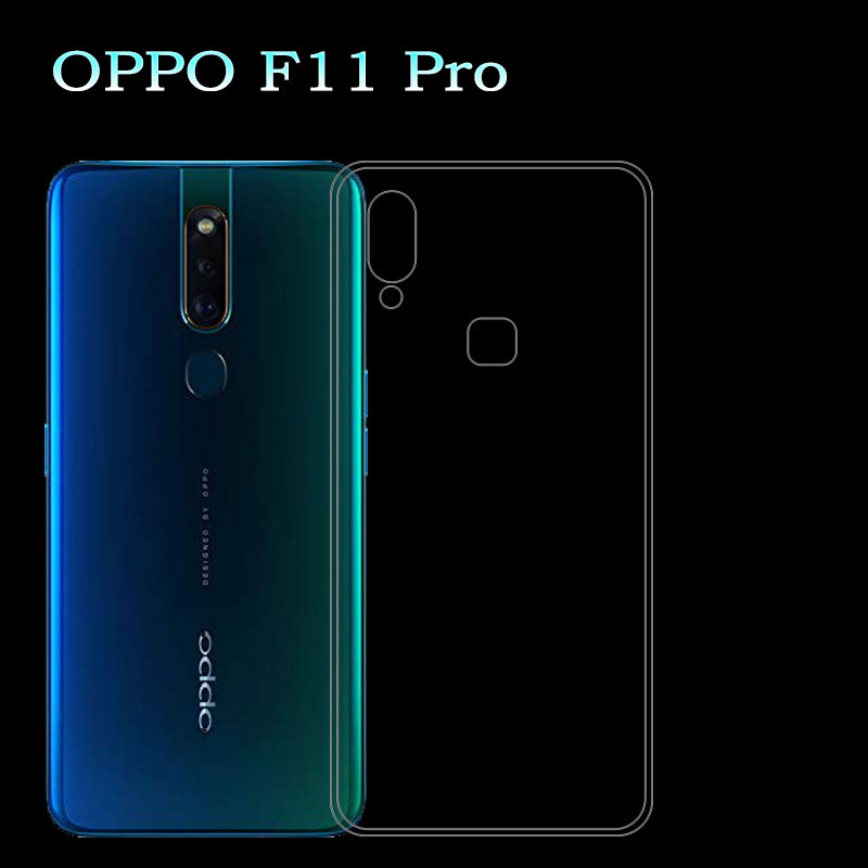 For OPPO F11 Pro OPPO F11Pro Phone Case Ultra-thin Transparent TPU Silicone Cases Coque Fundas Capa OPPOF11Pro OPPOF11 Pro