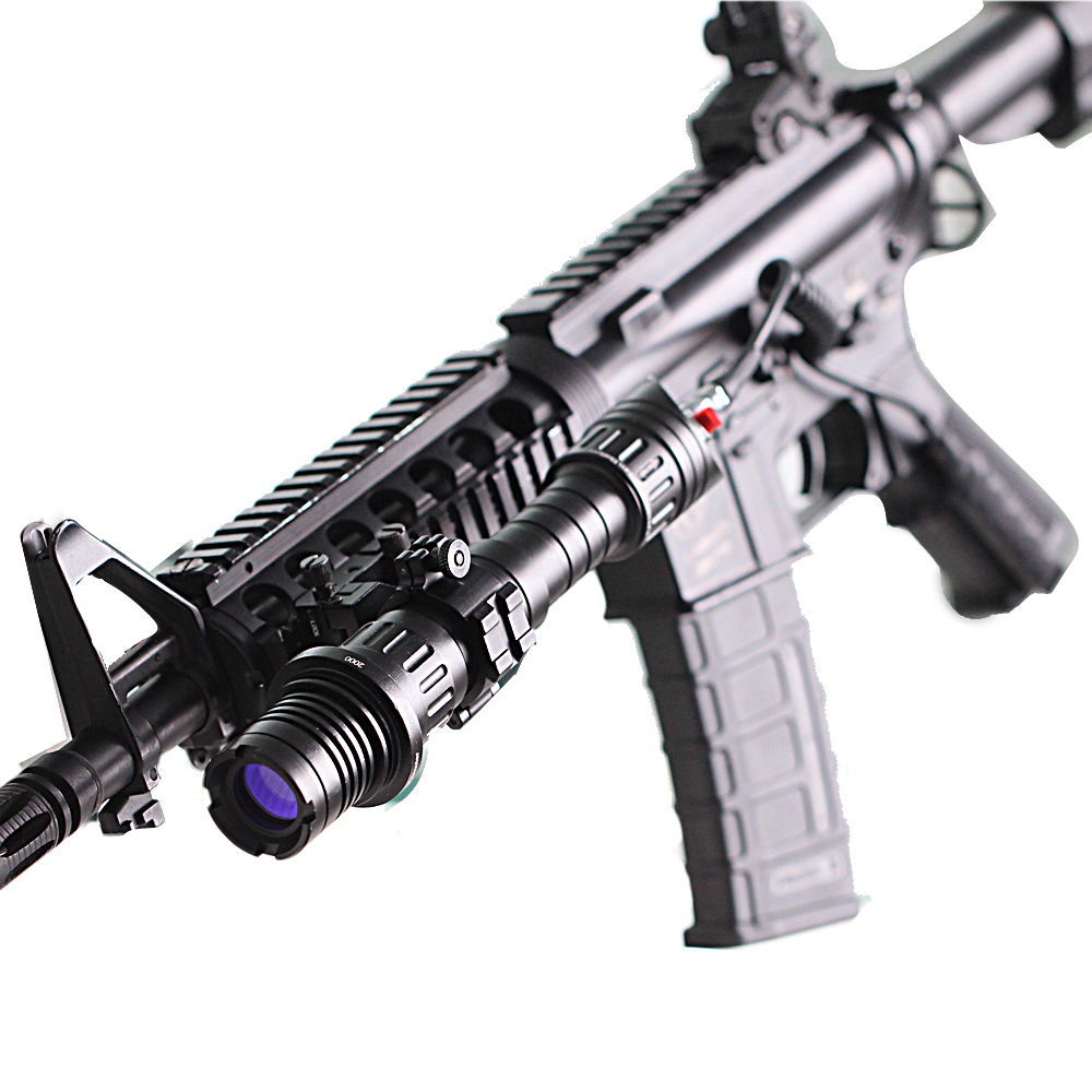US $148 5 |Drop shipping Handheld rifle low temperature zoomable 100mw  subzero hunting ar15 green laser illuminator-in Lasers from Sports &