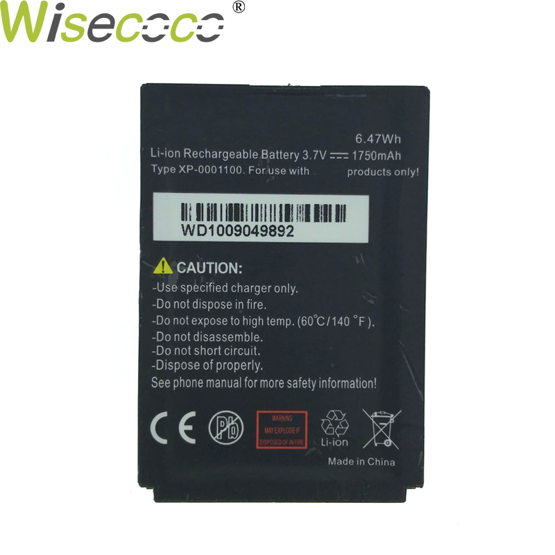 WISECOCO High Quality New 1750~1950mAh Battery For Sonim cellphone XP-0001100 Battery For XP3340 XP5300 XP3.20-0001100 phone