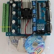 Мотор драйвер ЧПУ TB6560 4 оси контроллер шагового двигателя доска для лазерной гравировки машина