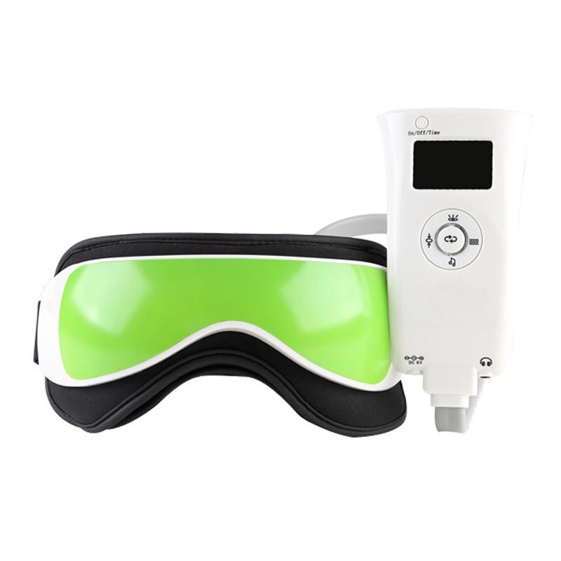 Инфракрасная глаз массажер, нагрев терапия маска для ухода за глазами расслабляющий лоб оздоровительный массаж и релаксация Лидер продаж Мода