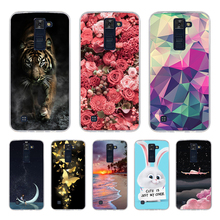 For LG K8 Case Cover Silicon Phone Cover For LG K8 Lte K350 K350E K350N 5.0