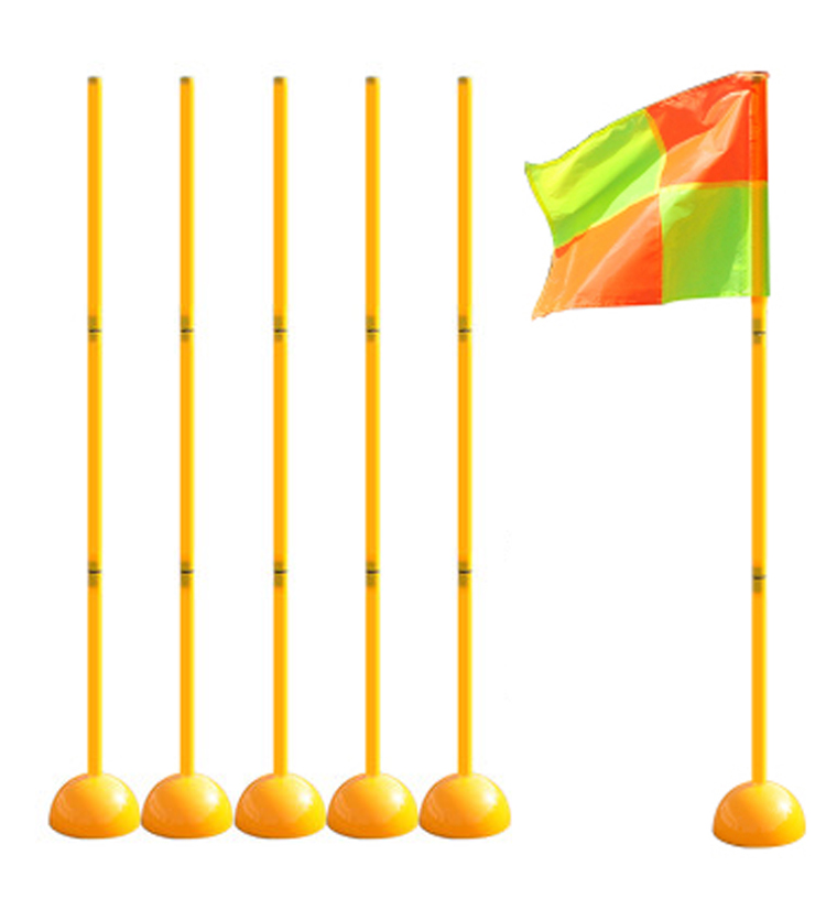 New Water Injection Base Football Door Pole Flag Logo Bar Training Equipment Sign Obstacle Marker Rod Top Quality