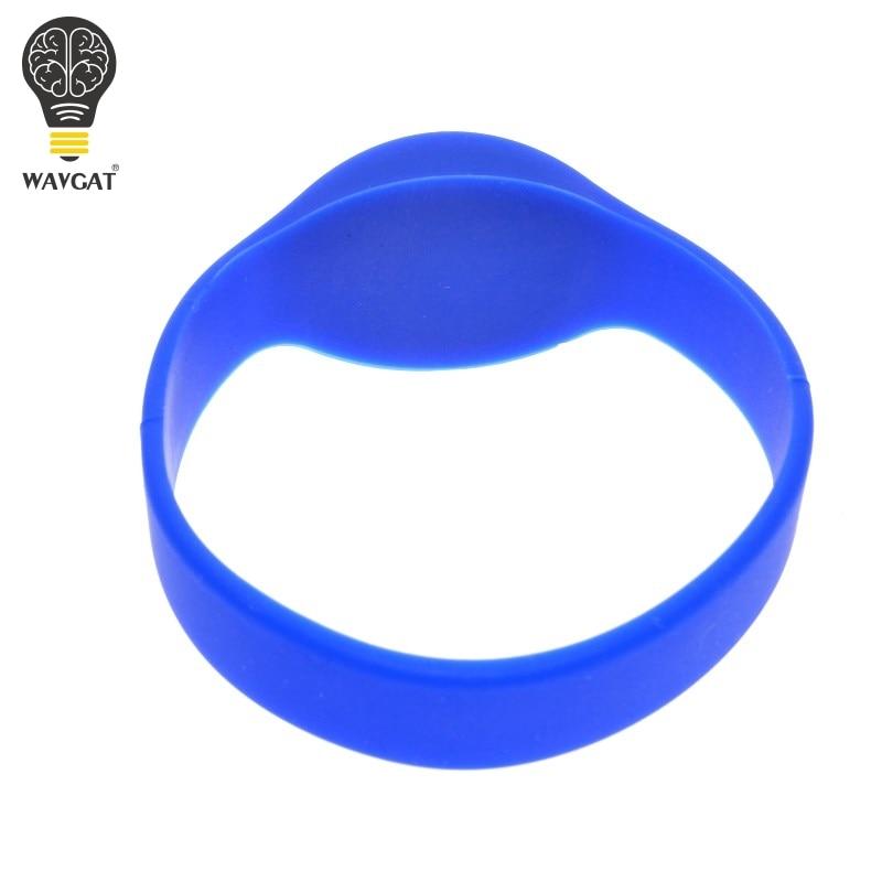 WAVGAT RFID Wristband Classic 125 khz EM4100/TK4100 watch Silicone Wristband Bracelet Access Control Cards