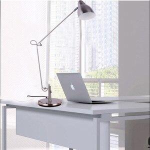 Image 2 - Marmenkina คุณภาพสูงโคมไฟตั้งโต๊ะสำนักงาน LED โคมไฟตั้งโต๊ะแบบยืดหยุ่นอ่านตารางโคมไฟ AC110V 220V 230V 240V