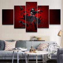 NARUTO Animation5 Pieces HD Print PaintingArtwork Landscape Canvas Wall Art Home Decor For Living Room Modern Decorative
