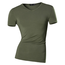 New Arrival 2017 Men Summer Casual Solid T-Shirt Slim Fit Short Sleeves Designer Shirt USA Sizes XS S M L XL 8 Colors AMA003