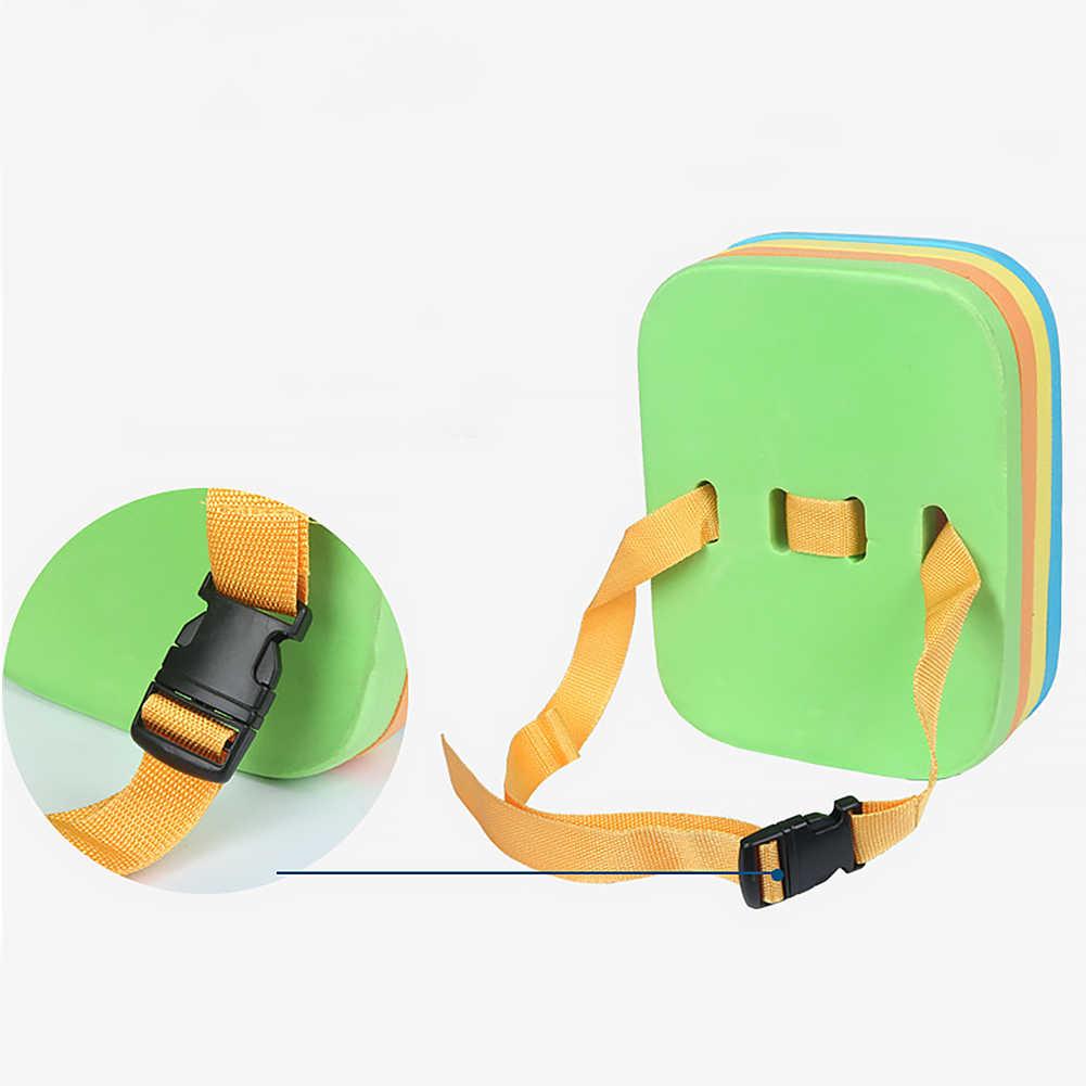 ว่ายน้ำลอย Kickboard เด็กผู้ใหญ่สระว่ายน้ำการฝึกอบรม Learner Aid โฟม Air ที่นอน Kick ความปลอดภัยเข็มขัด