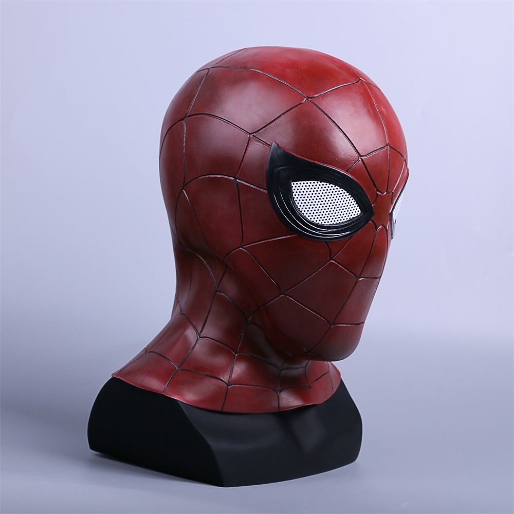 2018 Avengers 3 Infinity War Spiderman Mask Cosplay Iron Spiderman 3D Latex Mask (4)