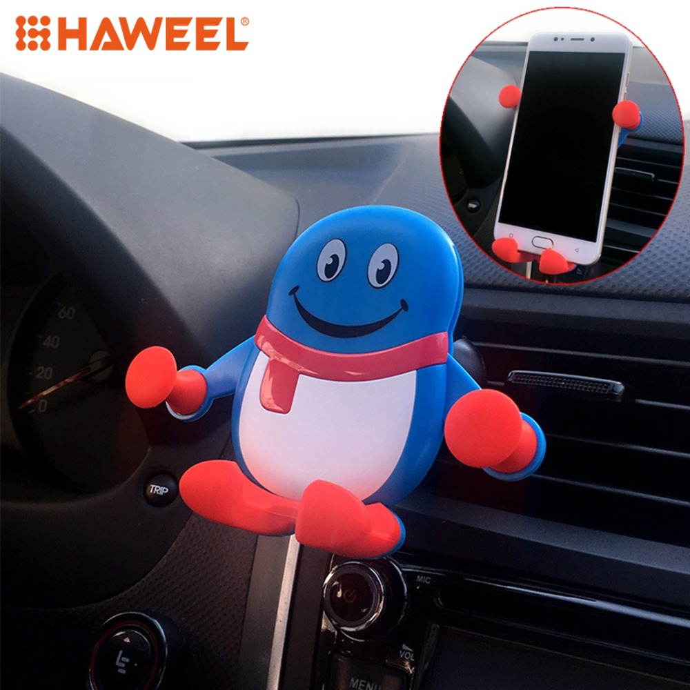 HAWEEL Gravity Sensing Car Mount Phone Holder Car Bracket Cell Phone Stand in Phone Holders Stands from Cellphones Telecommunications