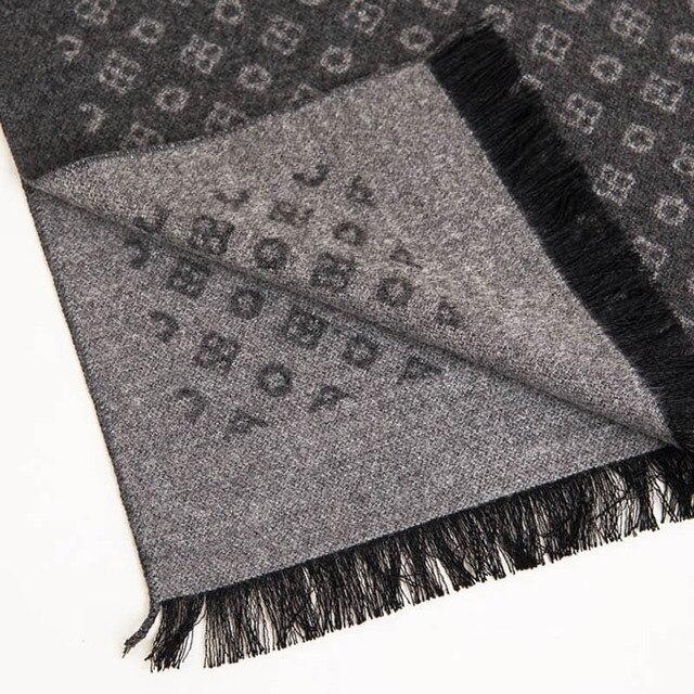Fashion design 2018 men women Scarf Luxury Brand high quality Neckerchief Winter Warm Soft Fringe Shawls Wraps Unisex Scarves 4