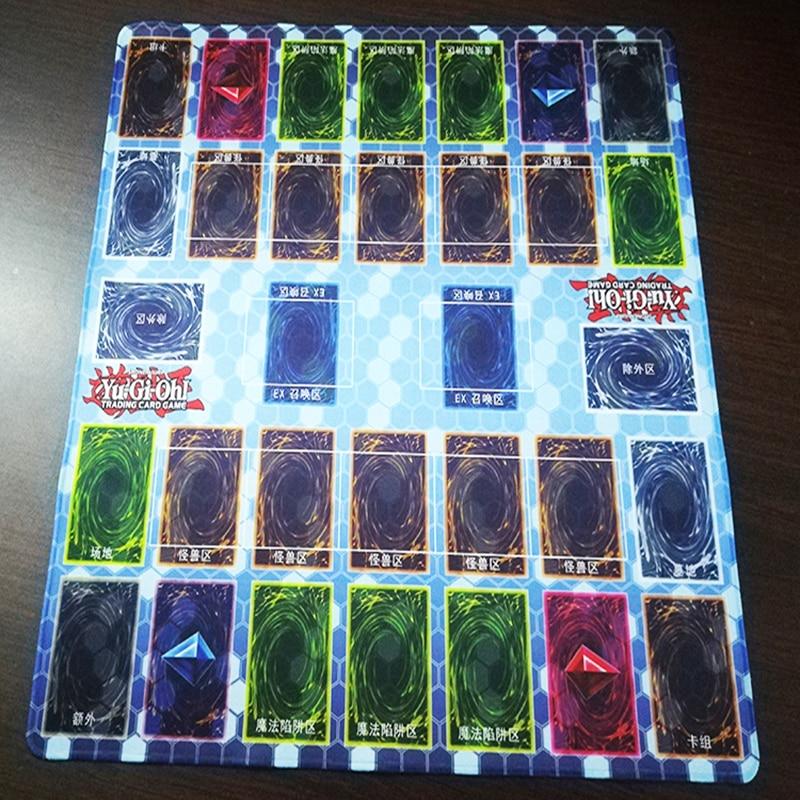 FFFAS 55x55 cm grand japon YUGIOH tapis de souris tapis pont clavier doux grand TCG tapis jeu multijoueur tapis de souris tapis de jeu pour ordinateur portable