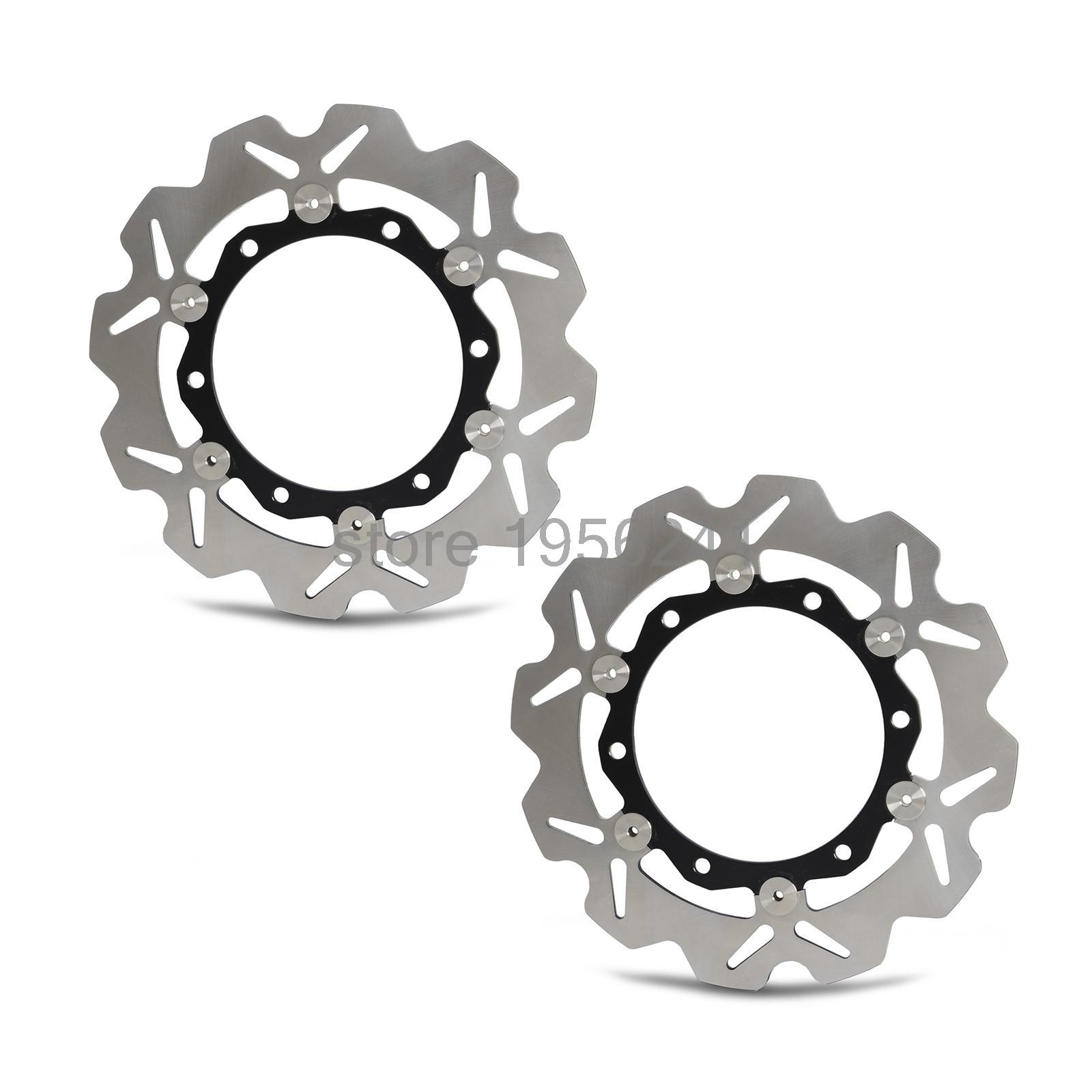 New Motorcycle Front  Rotor Brake Disc For Kawasaki ZX-6 ZX-6R ZX6R ZX-12R ZX12R Ninja ZX600 ZX1200 ZR550 Zephyr ZXR400 NEW