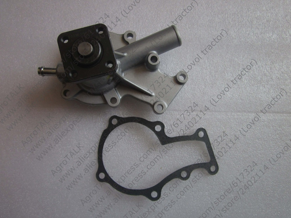 Kubota water pump with reference number: R25-13566-00 19883-73030 yanmar parts the water pump thermostat type with reference 4tne88